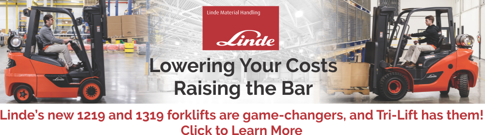 Linde 1219 and 1319 Forklifts