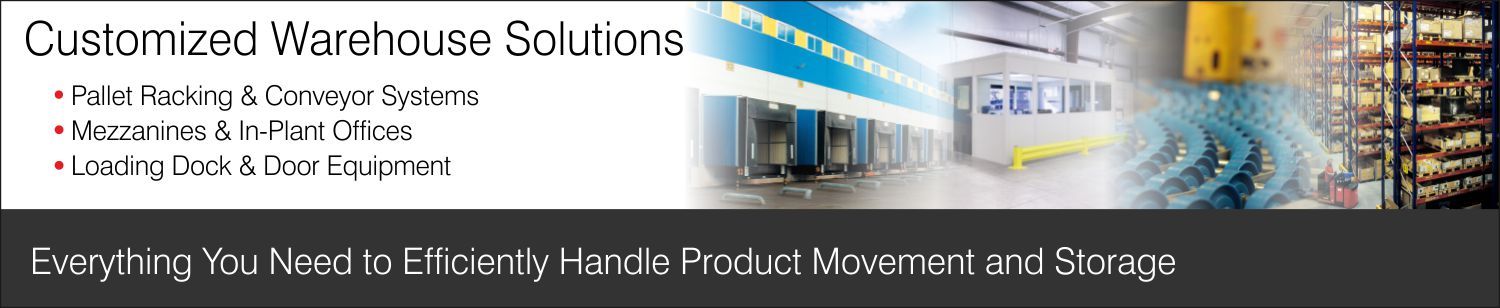 Warehouse Products and Services Banner